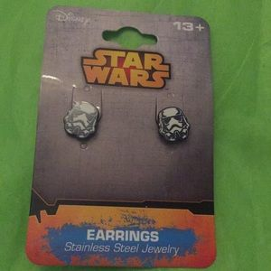 Stormtrooper Stud Earrings